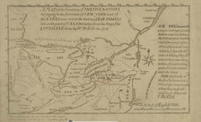 Map of the Five Nations of the Iroquois (from the Darlington Collection)