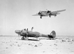 Martin Marylands of 39 Squadron operating from a landing ground in the Western Desert in 1941