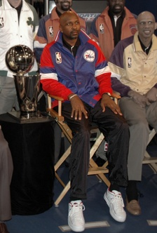 Moses Malone, played for the 76ers.