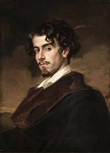 Gustavo Adolfo Bécquer by his brother, Valeriano Bécquer