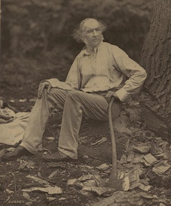 Portrait of Gladstone at Hawarden in 1877
