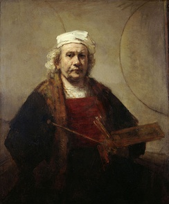 "Rembrandt, the last of Clark's ""Five Revolutionary Painters"" series (1960)"