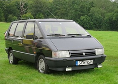 1985 Renault Espace, the first European multi-purpose vehicle