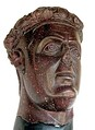 Head of Galerius, found on the site