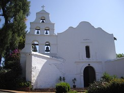 Mission San Diego de Alcalá, one of the first Spanish missions in California