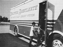 "San Joaquin Valley ""Biblioteca Ambulante"" (Traveling Library) in 1972"