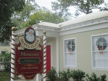 The Santa Claus Museum in Columbus, Texas