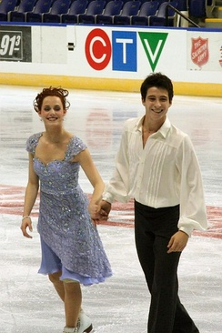 Virtue and Moir at 2006 Skate Canada International