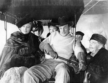 Richard Bennett, Joseph Cotten, Dolores Costello, Don Dillaway, Agnes Moorehead, and Ray Collins