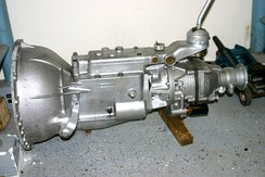 1960s Triumph gearbox with Laycock de Normanville electro-hydraulic operated overdrive