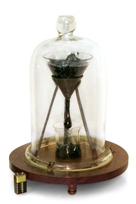 The University of Queensland pitch drop experiment, demonstrating the viscosity of asphalt