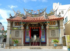 Temple to the city god of Wenao in Magong, Taiwan