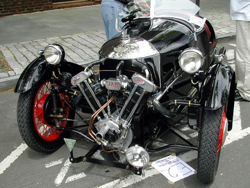 1934 Morgan Super Sports (using a JAP engine)