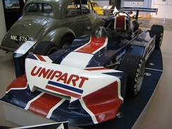 1978 March-Triumph F3 car, as raced by Nigel Mansell, on display at the Heritage motor museum, Gaydon