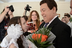 Joseph Kobzon, Russia's most decorated artist, often described as the 'Russian Sinatra'