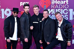 The American vocal group Backstreet Boys became one of the most commercially successful boy bands of the 1990s.