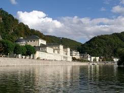 Bad Ems from the River Lahn
