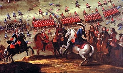 The Franco-Spanish army led by the Duke of Berwick defeated decisively the Alliance forces of Portugal, England, and the Dutch Republic at the Battle of Almansa.