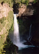 Bride's Veil Waterfall, in Molina.