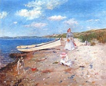 A Sunny Day at Shinnecock Bay, c. 1892