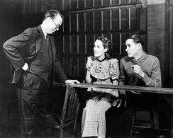 Frank Craven, Martha Scott and John Craven in the original Broadway production of Our Town (1938)