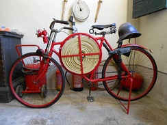 Firefighter bicycle