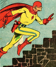 Fox Feature Syndicate's 1930s–1940s superhero the Flame.