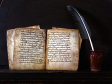 In the riojan monastery of San Millán de Suso there were found the first written records of both basque and Spanish languages (Glosas Emilianenses).
