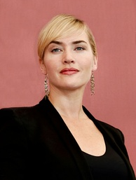 A bust shot of Kate Winslet.