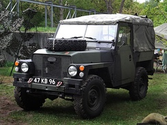 Land Rover half-ton lightweight series III