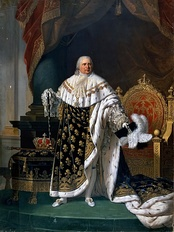 Louis XVIII by Robert Lefèvre (1822)