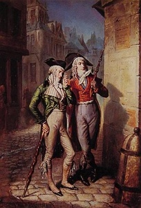 Two Muscadins in Paris (1795)