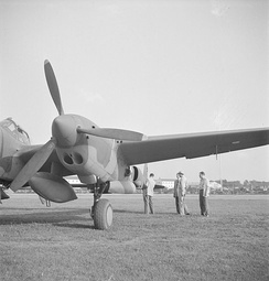P-38G engine, in this case V-1710-51/55 (F10) which this series used