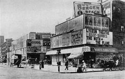 Broadway at 42nd Street in 1898