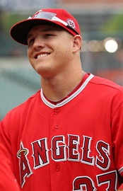 Mike Trout (AL) won the award in 2014 and 2015.