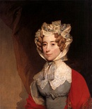 The sixth First Lady of the United States, Louisa Catherine Adams c. 1821–26, daughter-in law of John and Abigail Adams