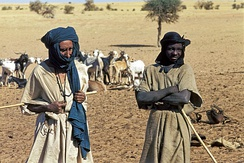 The Tuareg are historic, nomadic inhabitants of northern Mali.