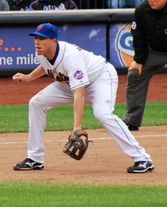 Hessman with the Mets in 2010