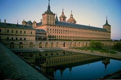 The El Escorial where Charles is buried