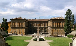 The Luxembourg Palace was modeled after Palazzo Pitti in Florence at the request of Marie de Médicis.
