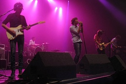 Phoenix performing live at The Wiltern, Los Angeles in 2009