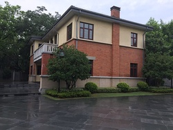 A mansion in Yihe Road