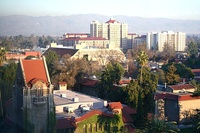 San José State University is the oldest public university on the West Coast and one of the largest feeder schools for Silicon Valley.[99]