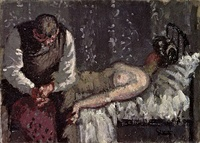 Walter Sickert, The Camden Town Murder, originally titled, What Shall We Do for the Rent?,[13] alternatively, What Shall We Do to Pay the Rent,[49] 1908