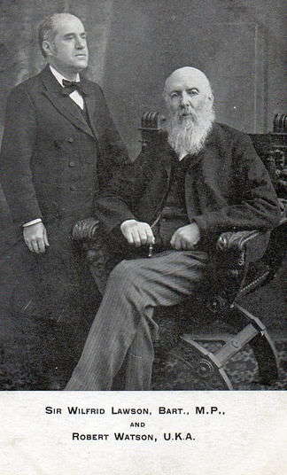 Sir Wilfrid Lawson and Robert Watson UKA