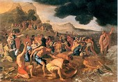 Nicolas Poussin, The Crossing of the Red Sea, 1634