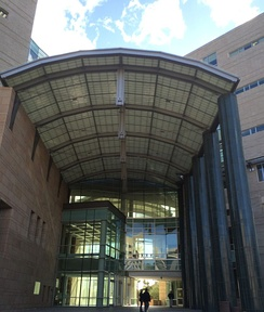 Federal courthouse in Tucson, AZ, where Operation Streamline proceedings take place