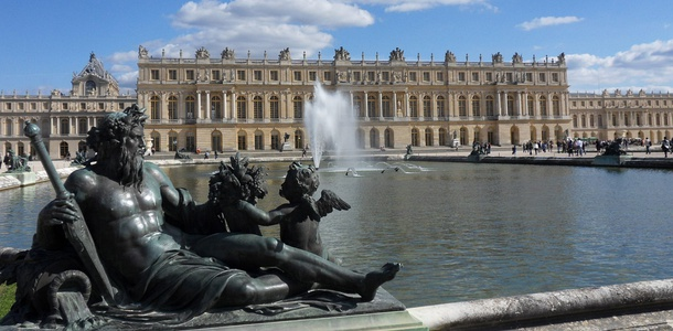 Palace of Versailles (7.7 million visitors in 2017)