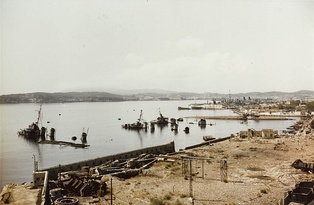 Toulon in late 1944