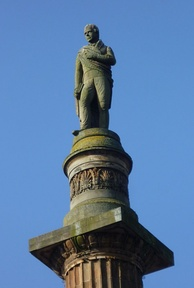 Statue on the Glasgow monument